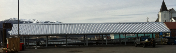 Berth IV Roof Structure: 2012
