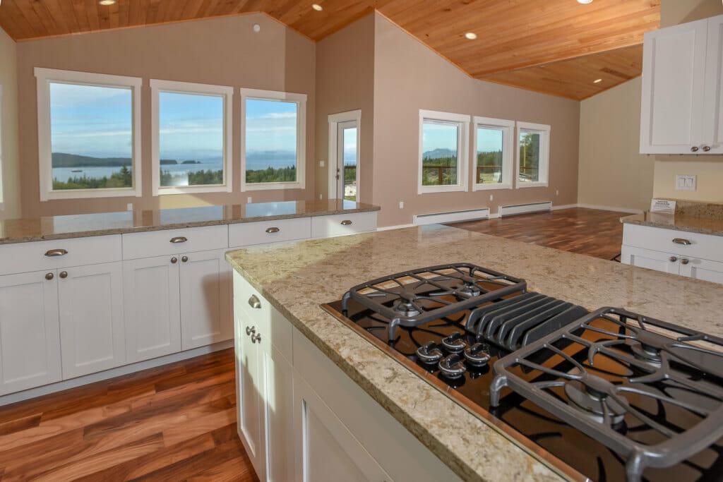 White Rock Kitchen View